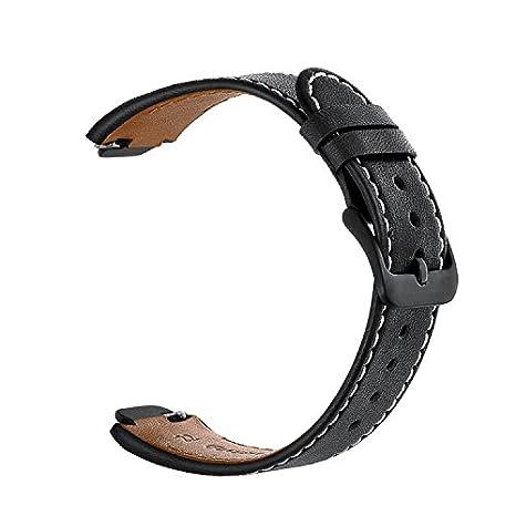 Feicuan 14mm Genuine Cuero Banda de reloj, Reemplazo Pulsera ...