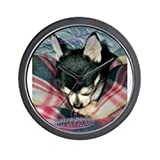 CafePress – Prayer of Precious ultimate chihuahua Wall Clock – Unique Decorative 10″ Wall Clock