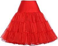 GRACE KARIN Women's 50s Retro Petticoat Knee