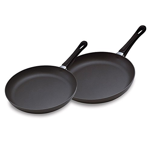Scanpan Classic 2 Piece Fry Pan Set, Black for sale  Delivered anywhere in USA
