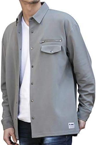 (アドミックス アトリエサブメン) ADMIX ATELIER SAB MEN メンズ ブルゾン 梨地 ジャージ ストレッチ オーバーサイズ コーチジャケット 長袖 セットアップ対応 02-61-9908