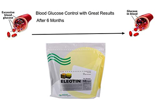 Blood Glucose Control ELEOTIN Herbal Tea Pre-Brewed for Moderate Type 2 - Clinical Proven to Work by vitactivate (Image #2)