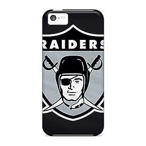 Cute High Quality Iphone 5c Oakland Raiders Case