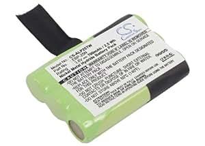 Batería de repuesto para Alinco DJ-S41 de níquel-metal hidruro 3,6 V 700 mAh - EBP-25N