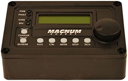 ME-ARC50 Magnum Energy Advanced Remote Control with Digital LCD Display and 50 Cable