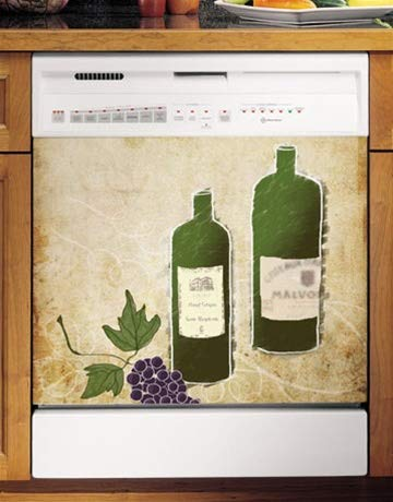 Appliance Art 10628 Appliance Arts Grapes Dishwasher Cover
