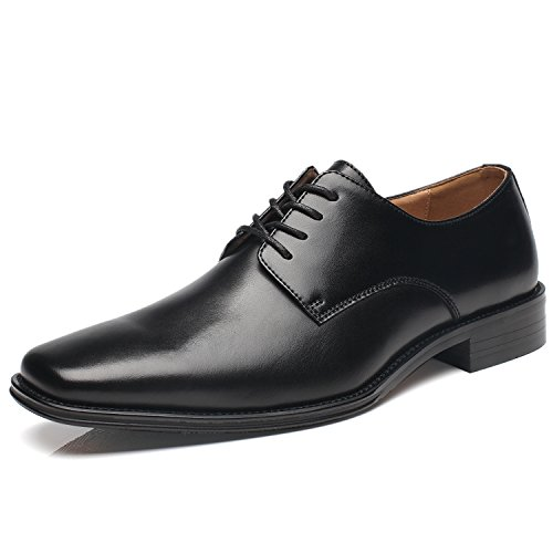 NXT NEW YORK Mens Dress Shoes Geniune Leather Oxford Shoes for Men Zapatos de Hombre Lace Up Comfortable Classic Modern Formal Business Shoes by NXT NEW YORK