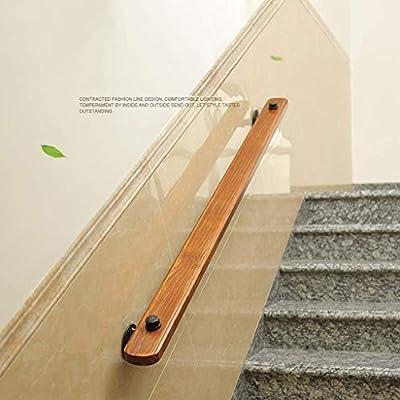 Barandilla Escalera Madera para Interior al Aire Libre | Barandillas Apoyo Seguridad para el Embarazo niños Ancianos | Barandilla Escalera para barandilla del Corredor Acceso al Hospital Villa Loft: Amazon.es: Deportes y