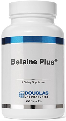 (Douglas Laboratories - Betaine Plus - Betaine Hydrochloride with Pepsin to Support Digestion* - 250 Capsules)