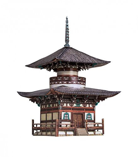 - UMBUM Innovative 3D Puzzle - Honpo-Ji Pagoda (Seoul, Korea) - by Clever Paper (327) 65 pcs Scale 1/87