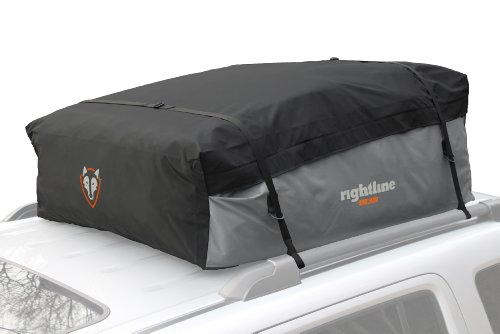 Rightline Gear 100S30 Sport 3 Car Top Carrier, 18 cu ft, Waterproof, Attaches With or Without Roof - Sport Vehicle