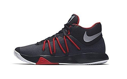 Galleon - Nike Men s KD Trey 5 V Basketball Shoes Black Chrome University  Red White Size 10.5 M US d0b95981f