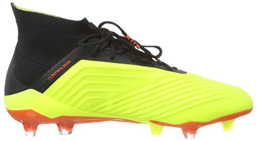 Jaune adidas 18 1 000 Amasol Chaussures Football Homme Rojsol de Predator Negbás FG r8xqr5