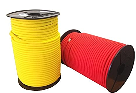 Expanderseil 6mm Gummiseil Gummikordel Expanderseil 10m 20 m, Rot 100m f/ür Plane LKW Netze Zelte Abdeckungen