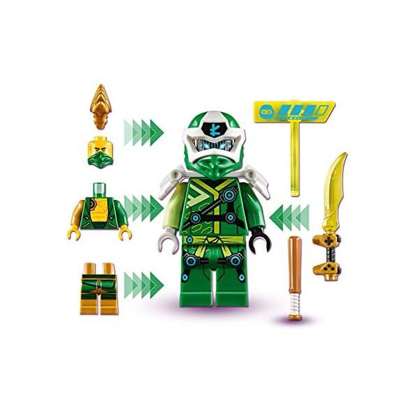 LEGO Ninjago Avatar di Lloyd Pod Sala Giochi con 2 Minifigure: Digi Lloyd con Arma di Controllo Principale e Avatar… 4 spesavip