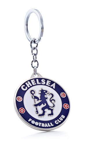 Official Chelsea F.C.Football Club Soccer Team Logo Metal Pendant Keychain ()
