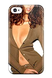 Protective Tpu Case With Fashion Design For Iphone 4/4s (adriana Lima )