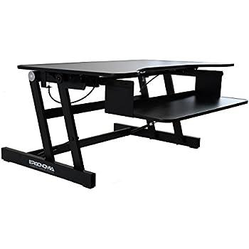 Amazon Com Ergonomia Height Adjustable Standing Sit To
