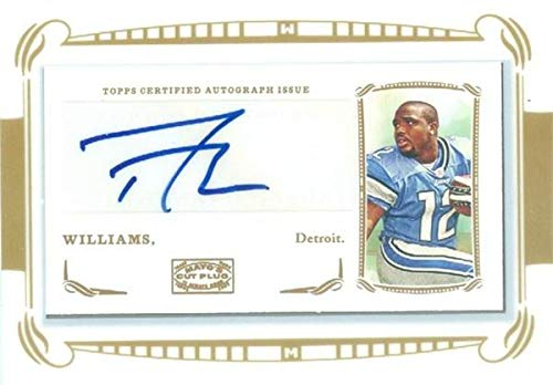Derrick Williams autographed Football Card (Detroit Lions) 2009 Topps Mayo #MADW