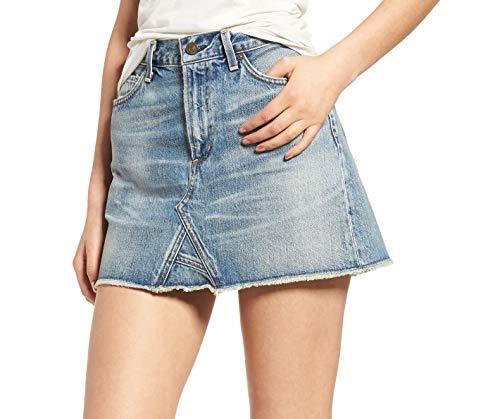 Citizens of Humanity Women's Cutoff Denim Miniskirt, Freebird Wash (27)