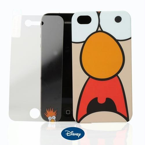 Disney Protect your iPhone with thisspecial edition caseand matching screen guard. Designed for the the 4Gmodel and featuring Beaker from The Muppet (Beaker From Muppets)