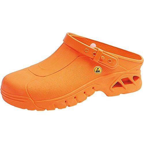 Abeba , Herren Sicherheitsschuhe orange orange 36 EU