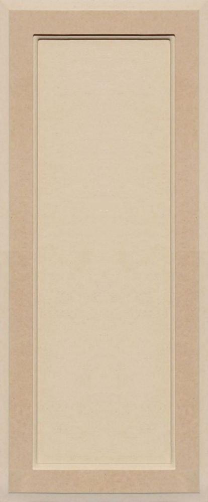 Unfinished MDF Square Flat Panel Cabinet Door by Kendor, 29H x 12W Kendor Wood Inc.