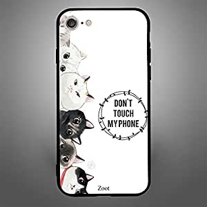 iPhone 8 Cats Dont Touch my Phone