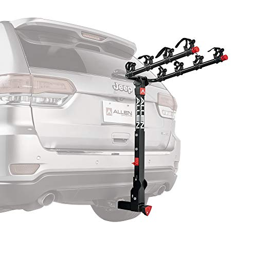 Allen Sports Deluxe+ Locking Quick Release 4-Bike Carrier for 2 in. Hitch, Model 840QR (Best Camera Ever In The World)