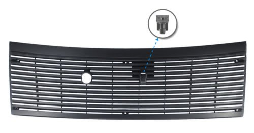 1983-1993 Mustang Cowl Vent Grille with Windshield Washer Nozzle Mustang Cowl Hoods