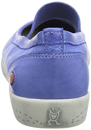 Softinos Ion446sof Washed, Ballerine Punta Chiusa Donna Blau (Lavender Blue)