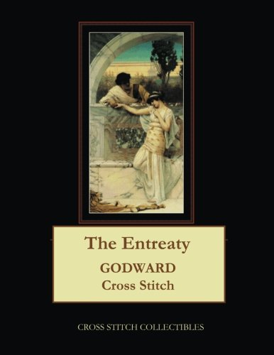 The Entreaty: J.W. Godward Cross Stitch Pattern