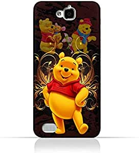 حافظة هواوي Honor C TPU سيليكون واقية مع تصميم Winnie the Pooh