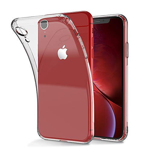 Compatible with iPhone XR Case - CAFELE Flexible TPU Bumper Case Crystal Clear Ultra Slim Shell Protective Anti-Scratch Cover for Apple iPhone XR (6.1 inch)