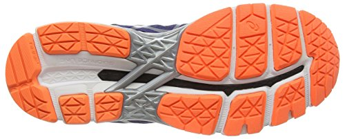 ASICS - Gel-kayano 22, Zapatillas de Running hombre Azul (deep Cobalt/silver/hot Orange 5093)