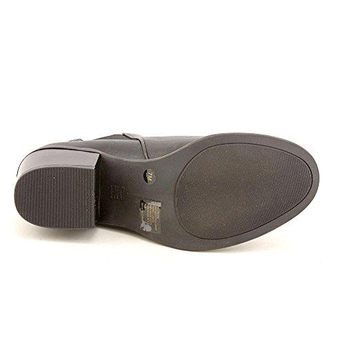 Inc Internationale Concepten Dames Rickie Gesloten Teen Enkel Mode Laarzen Zwart