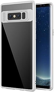 JIEXUN Phone Funda para Samsung Galaxy Note 8-Blanco: Amazon.es ...