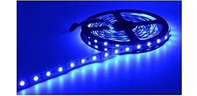 ELlight 3528 RGB SMD 5M/Roll 16.5ft 300Led 60Led/M Flexible Waterproof Strip Lamp Lights+12v Power Supply Adapter+44 Key IR Remote Control
