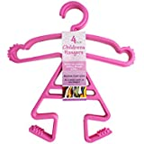 Baby, Toddler, Childrens' Girl Shaped Clothes Hanger 2 Sets of 4 Pack Each