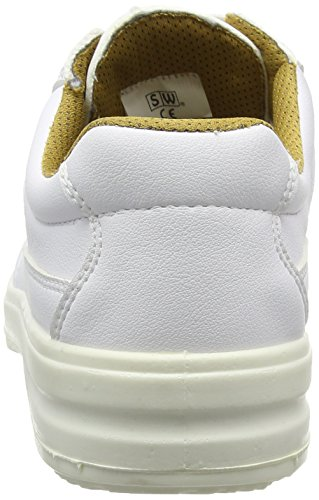 Lacets Psf À Esd Blanc Chaussure Acier Embout Derby En R7qI4P