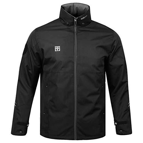 Mooto Korea Taekwondo Clothing Top S2 Wing Jacket Black White 2 Colors MMA Martial Arts Team Uniform (1. Black, 130(120cm-130cm or 3.93ft-4.26ft))