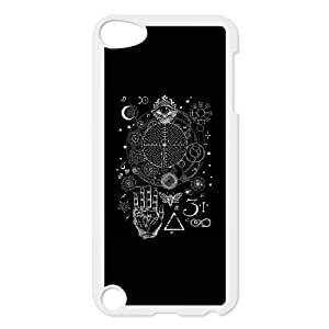 iPod Touch 5 Case White Magic Symbols for an Alchemist Dreamer 1 WMW Speck Phone Cover