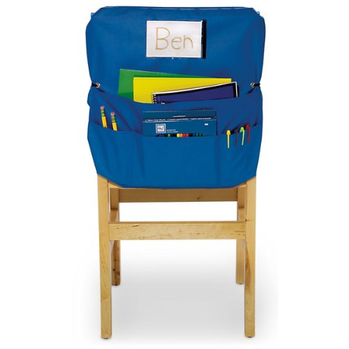 Nasco Polyester ChairMate, Large, 20'' x 17'', Blue, Grades K - 5, Blue by Nasco