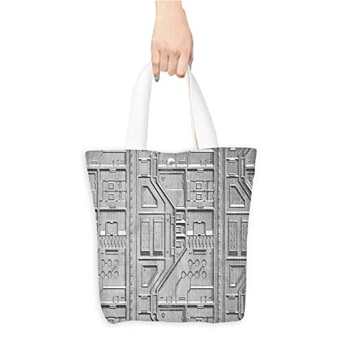 Canvas Tote Bag sci fi wallpaper backgroun Perfect for Shopping