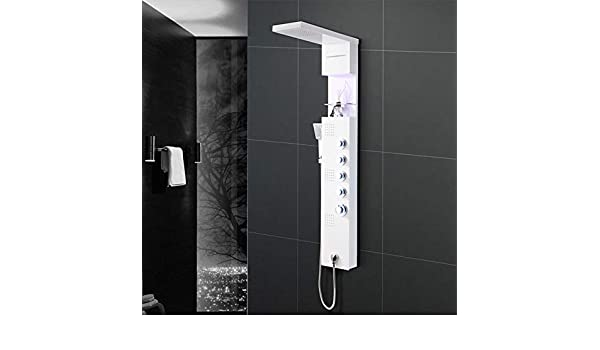 KaO0YaN-Shower Acero Inoxidable Multifunción Mampara De Ducha Luz ...
