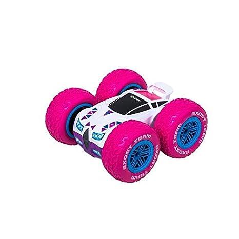 Exost TE145 - Coche teledirigido - 360 Cross rosa - Escala 1/18: Amazon.es: Juguetes y juegos