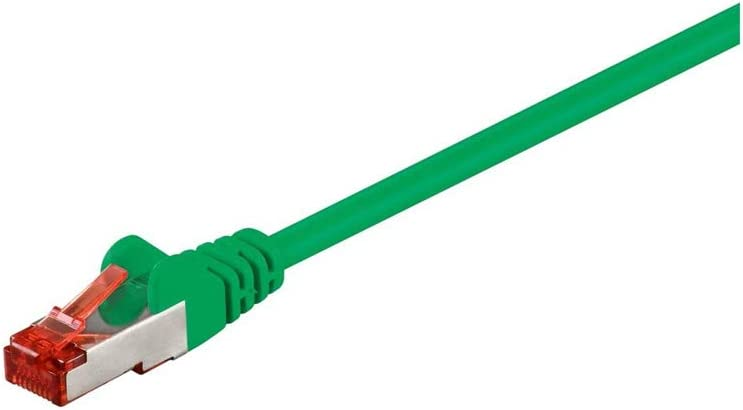 Green S//FTP Goobay 68291 CAT 6 Patchcable PiMF 3m Cable Length