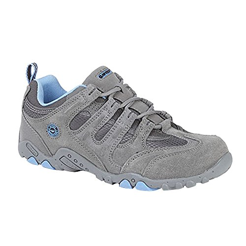 Tec Gray Ladies Quadra Trail Charcoal Shoes Blue Classic Hi Womens a6Z4x6q