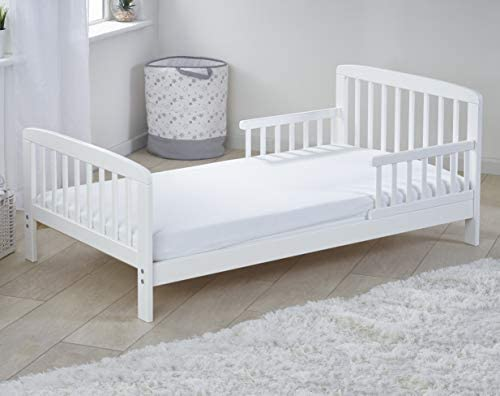 East Coast Nursery Toddler Bed White