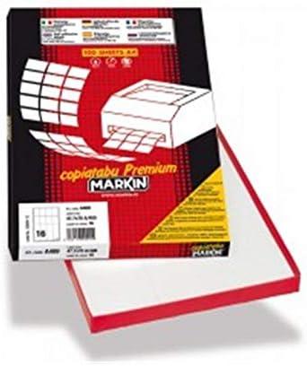 Markin 210C553 etichetta autoadesiva